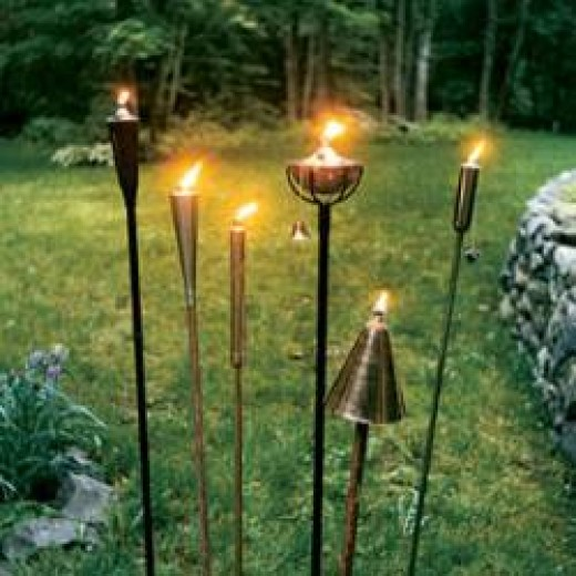 Outdoor Tiki Torches