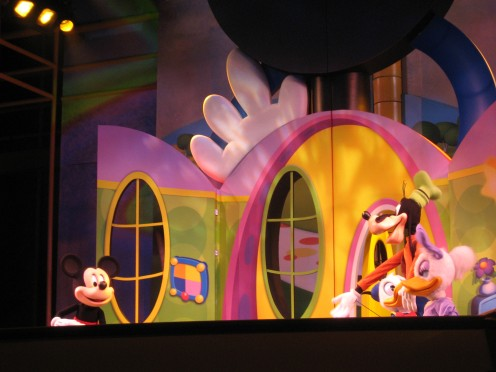 Mickey Mouse Clubhouse during Playhouse Disney Live On Stage at Hollywood Studios