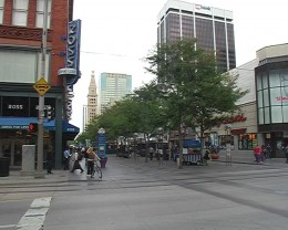 16th street mall Denver Colorado