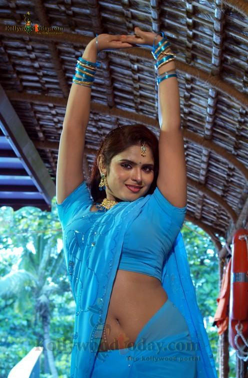 Mallu Tv Actress Hot Navel Image