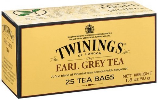 Large cup of Earl Grey Tea with Stevia also