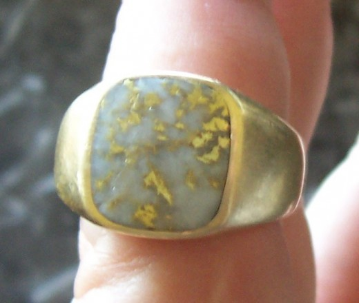 The Rare Beauty of GoldNQuartz Jewelry HubPages