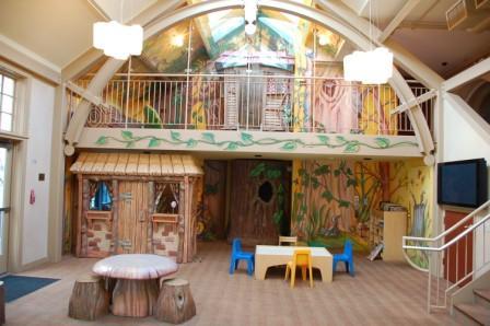 Treehouse playroom