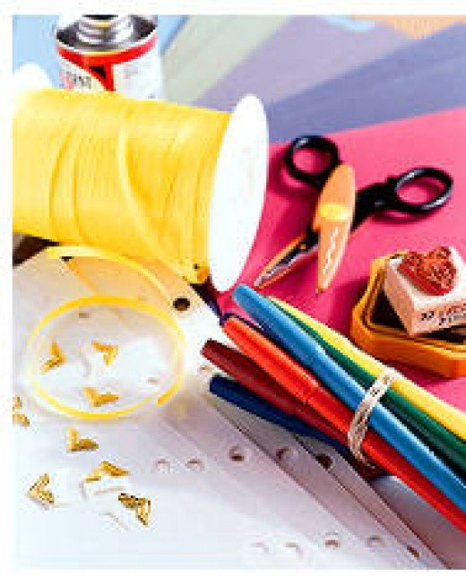With just a few basic supplies you can get started in scrapbooking!