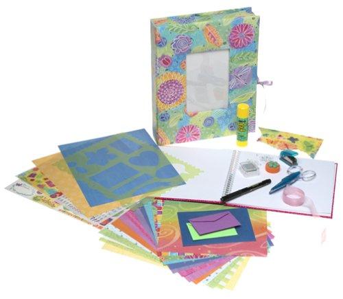 Scrapbooking supply kits make great gifts!