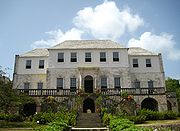 Rose Hall Mansion, Montego Bay, Jamaica - haunted by the ghost of Annie Palmer