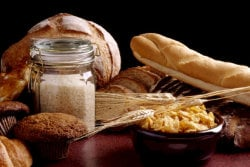Common foods with Gluten