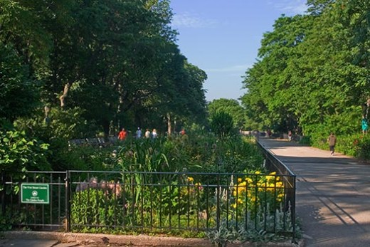 Riverside Park, Upper West Side, New York City