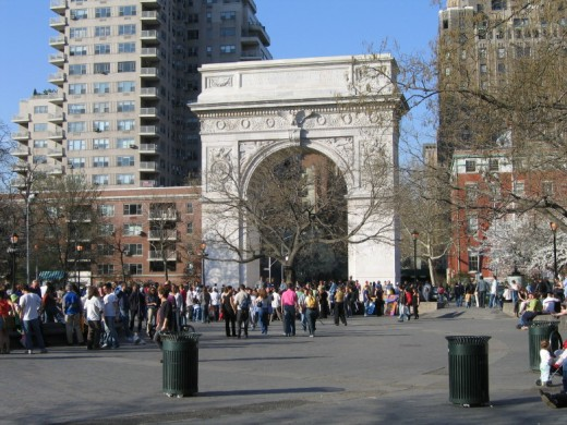 Washington Square, Greenwich Village New York City