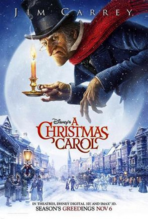 2009 To Be Released A Christmas Carol, starring Jim Carey.