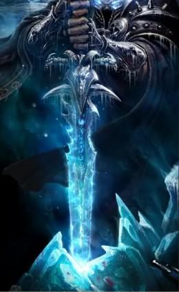 World of Warcraft Death Knight Sword