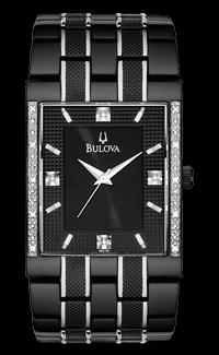 Bulova Diamond Black