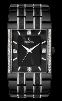 Bulova Diamond Black