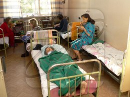A typical hospital room. Image from visualrian.ru