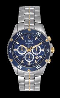 Bulova Marine Star Chronograph Bezel