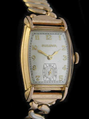 Bulova Gold Watch