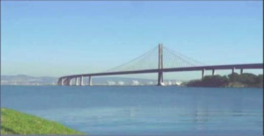 San Francisco-Oakland Bay Bridge eastern span (public domain).