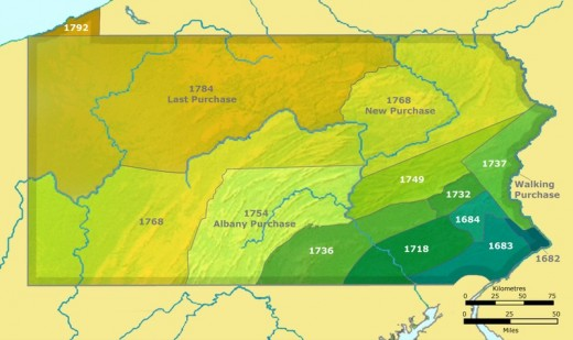 Native Americans migrated into the Ohio Territory and farther to the West.