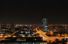 Zadreb at night