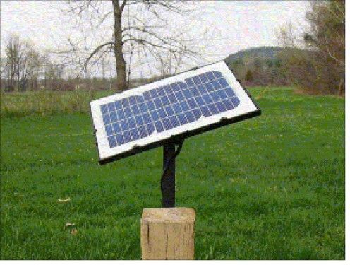Here is a neat solar panel from a company in Vermont, notice that it can be adjusted to the Sun