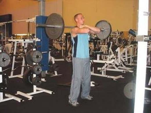 Front Squat - Standing Position