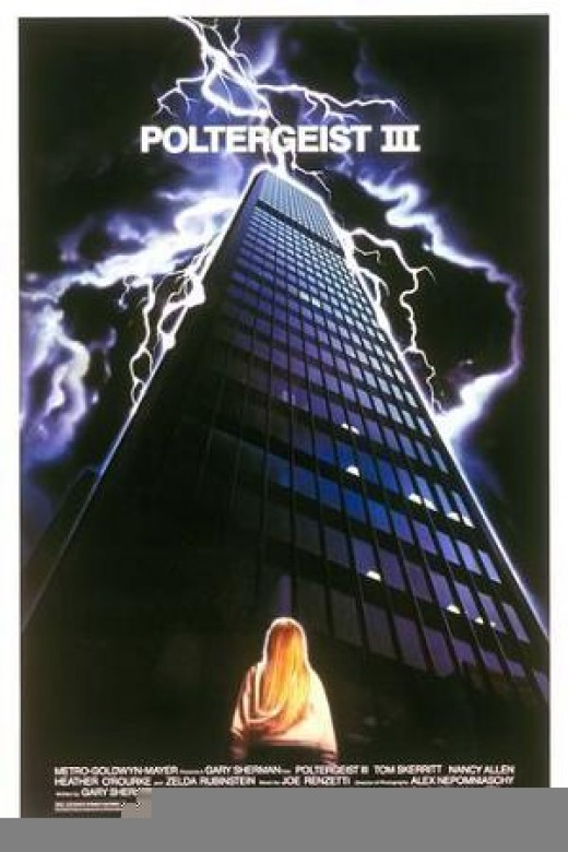 Poltergeist III, 1986  Source: Wikipedia