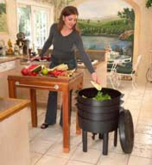Indoor Worm Composting Bins