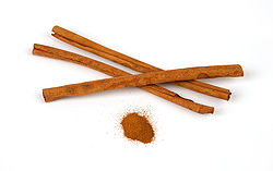 Cinnamon for Nutmeg (with ginger)