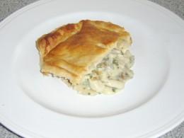 Turkey and Mushroom Pie Serving