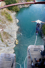 Andrenalin Capital Of The World ,Bungee Jumping began here,Queenstown New Zealand