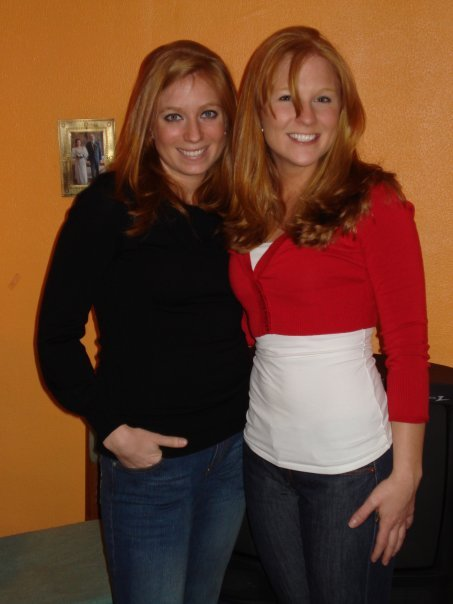 Kid sister and I
