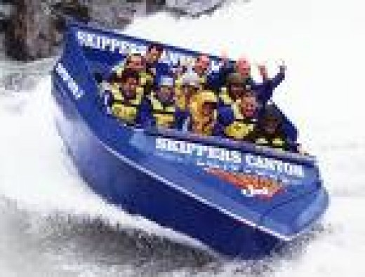 Jetboating ,Queenstown New Zealand