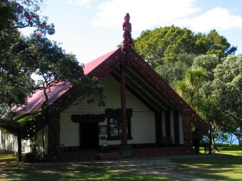 Treaty House, Waitangi, New Zealand