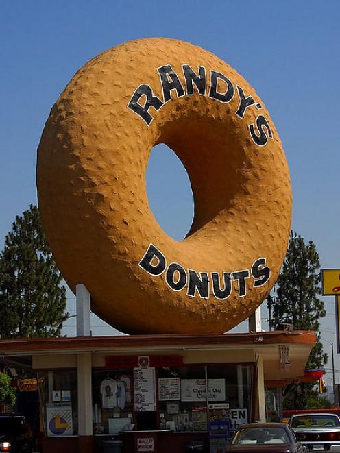 An elephant sized donut.