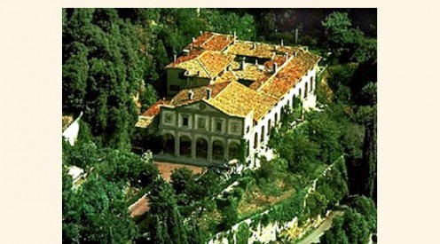 Villa San Michele from Above.