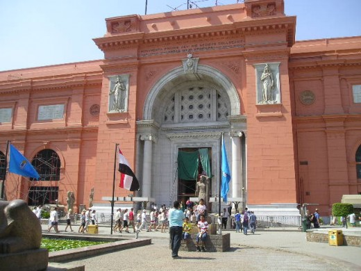 Egyptian Museum.  Photo by Glendon Caballero