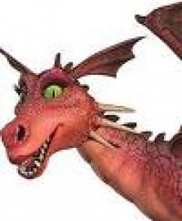 Only lipstick wearing dragon I know!