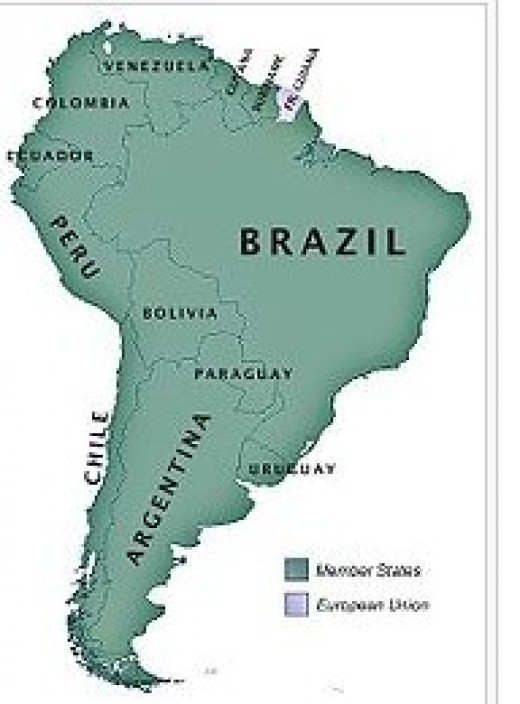 a history of brazil the largest country in south america Brazil, officially the federative republic of brazil, is the largest country in both south america and the latin american region it is the world's fifth largest country, both by geographical area and by population.