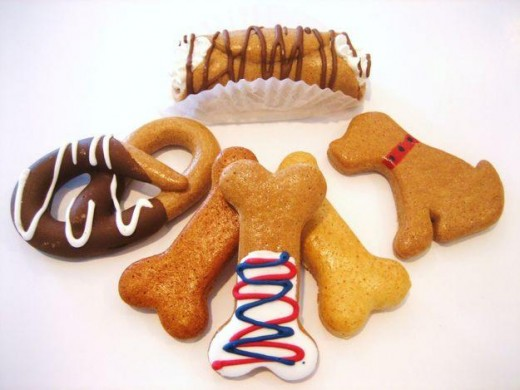 Gourmet dog treats are great for special occasions.