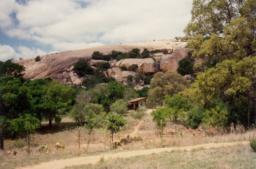Enchanted Rock State Park in Texas