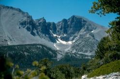 Wheeler Peak dominates the scenery of Great Basin National Park, Nevada.
