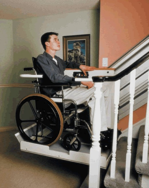 Wheelchair platform lift for Wheelchair homes
