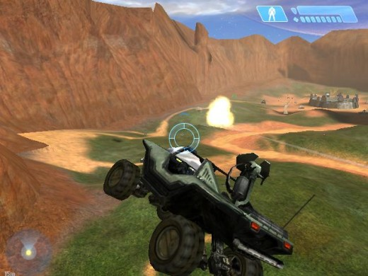 Flying warthogs were seen quite a bit on halo 2, but i have not yet seen it happen in halo 3. This would be very nice