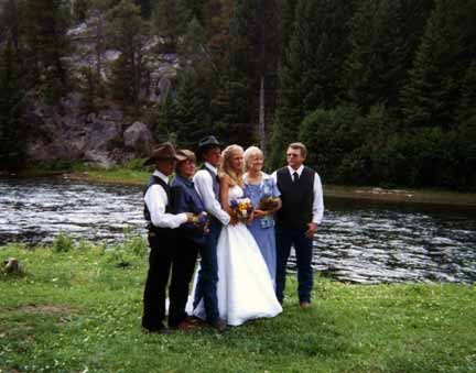 Informal Wedding- Photo From www.hunterpeakranch.com