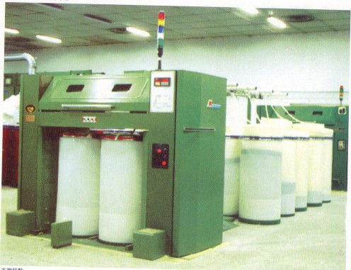 This is a machine in a Textile Mill used to make the fibers in the Card Sliver Uniform