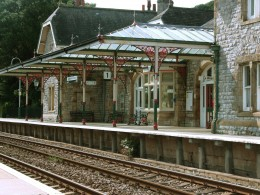 Train stations like this were common in the railroad's hayday