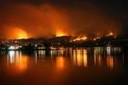 Many homes of members to Demonic Pastor Rick Warren's Saddleback Church burned.