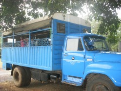 Our truck which took us to the Masai village