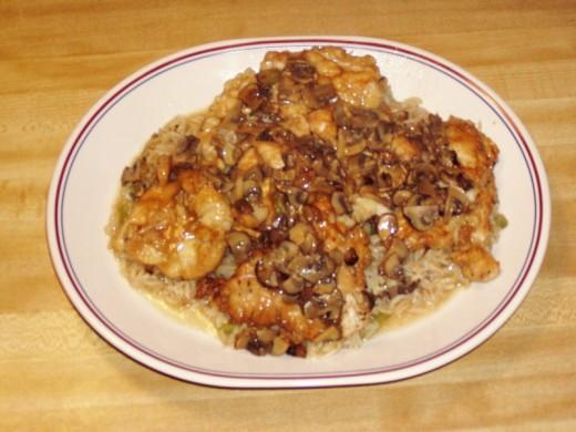 Roxane Mesquida Olive Garden Chicken Marsala Recipe