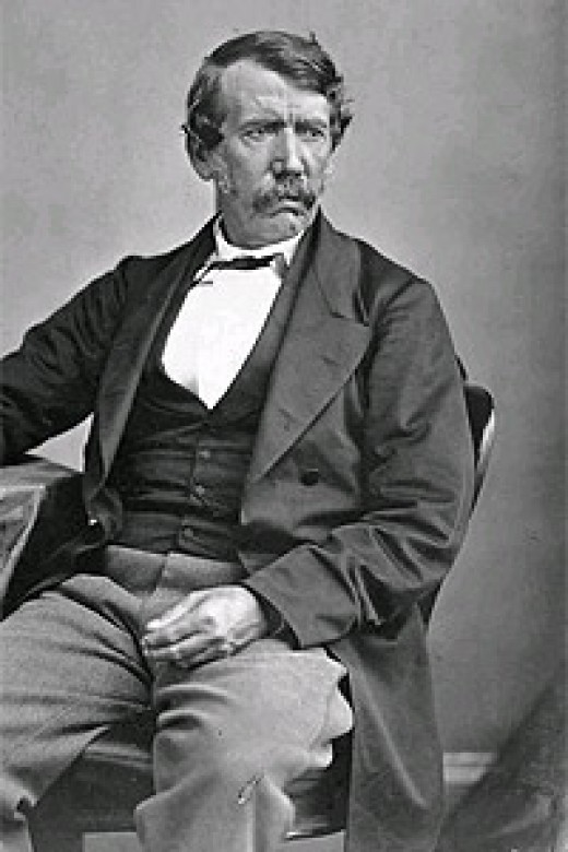 David Livingstone - he inspired abolitionists of the slave trade and missionaries – his name held in high esteem by many African